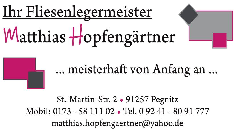Fliesenlegermeister Matthias Hopfengärtner