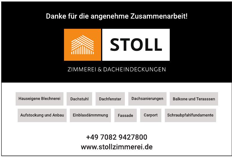 Stoll – Zimmerei & Dacheindeckungen