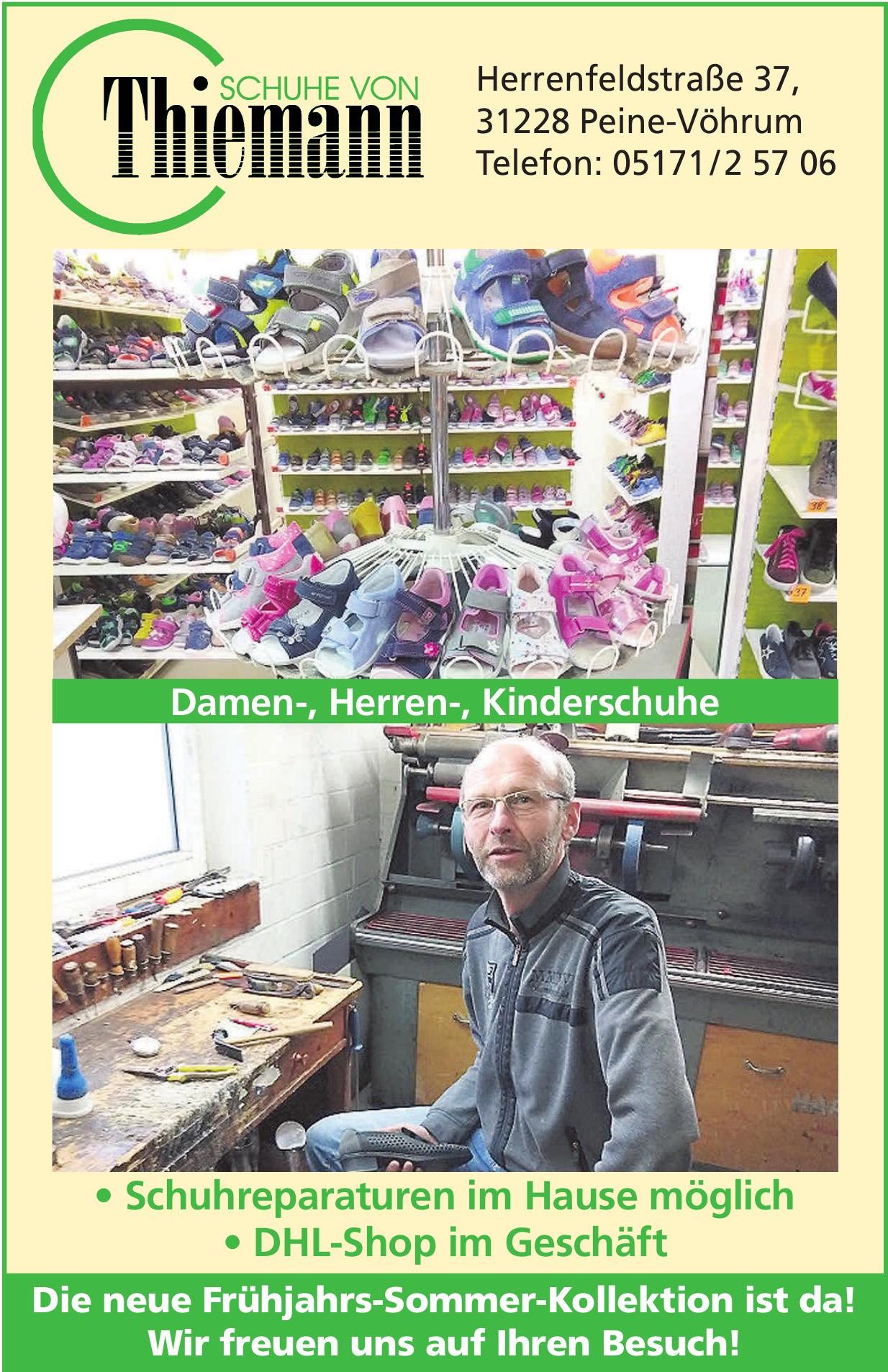 Schuhe von Thiemann