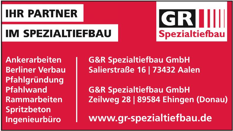 G&R Spezialtiefbau GmbH