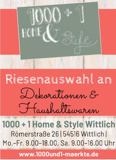 1000 + 1 Home & Style Wittlich