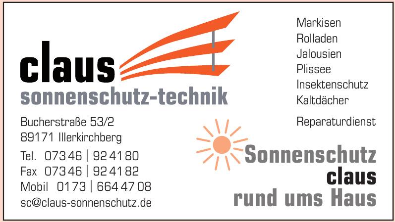 Claus Sonnenschutz-Technik