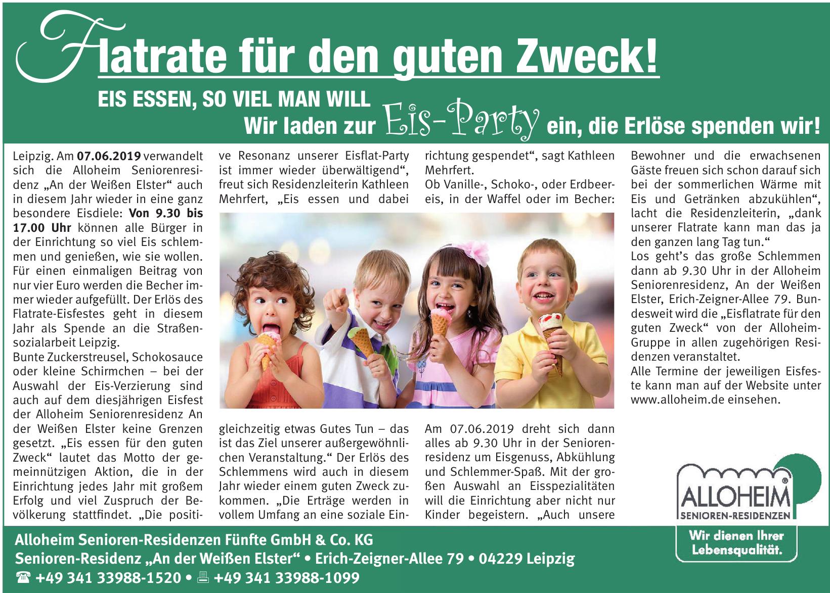 Alloheim Senioren-Residenzen Fünfte GmbH & Co. KG
