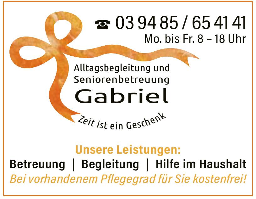 Alltagsbegleitung und Seniorenbetreuung Gabriel