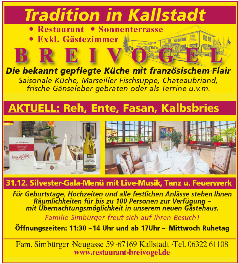 Restaurant Breivogel