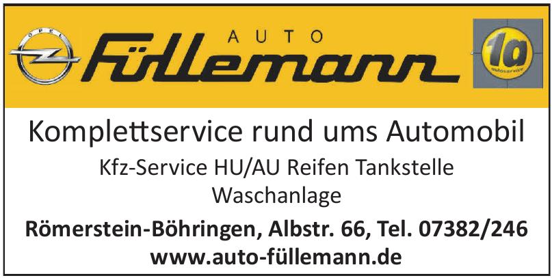 Auto Füllemann