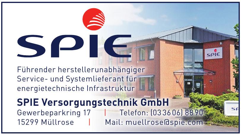 SPIE Versorgungstechnik GmbH