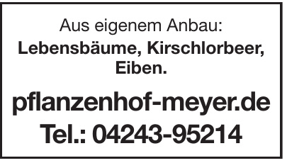 Pflanzenhof Meyer