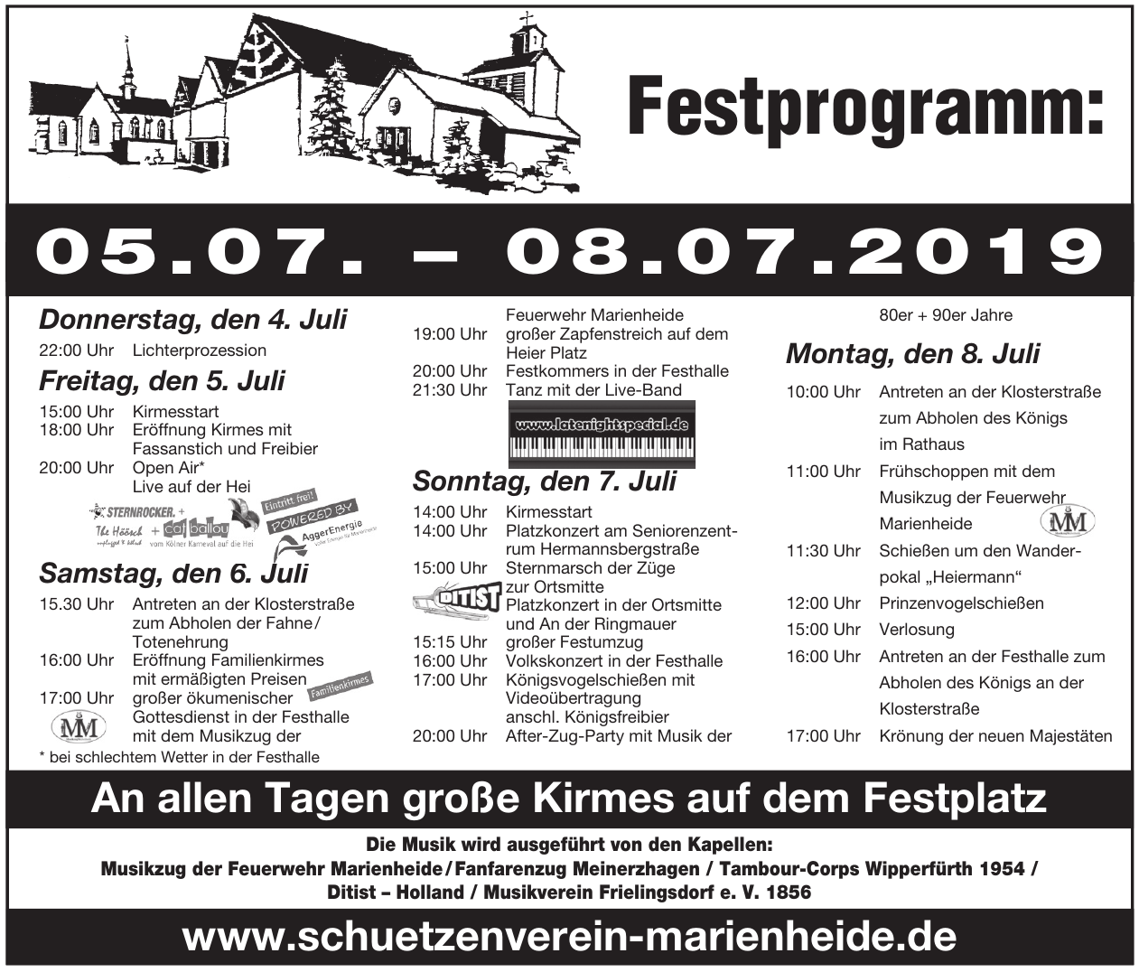 Schützenfest Marienheide