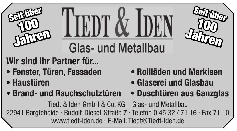 Tiedt & Iden GmbH & Co. KG – Glas- und Metallbau