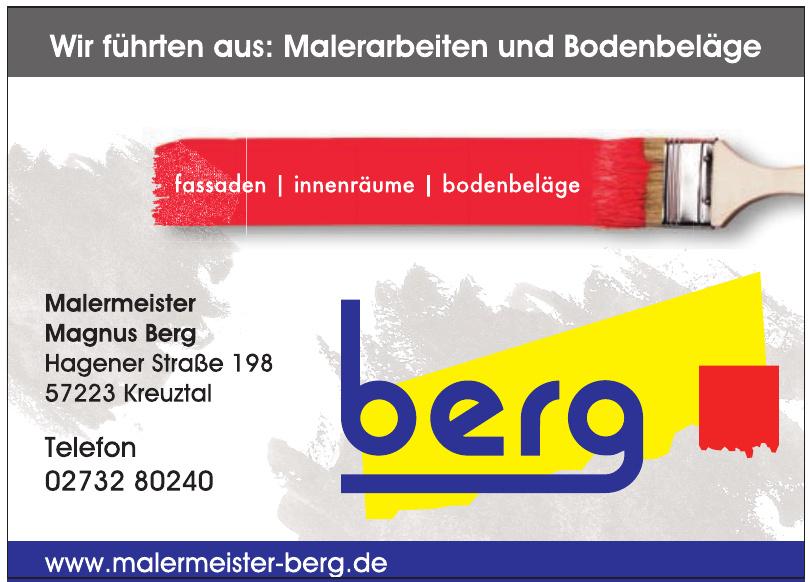Malermeister Magnus Berg