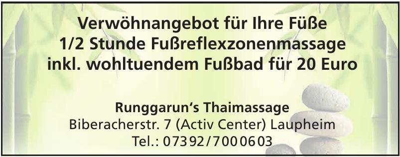 Runggarun's Thaimassage