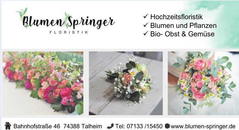 Blumen Springer