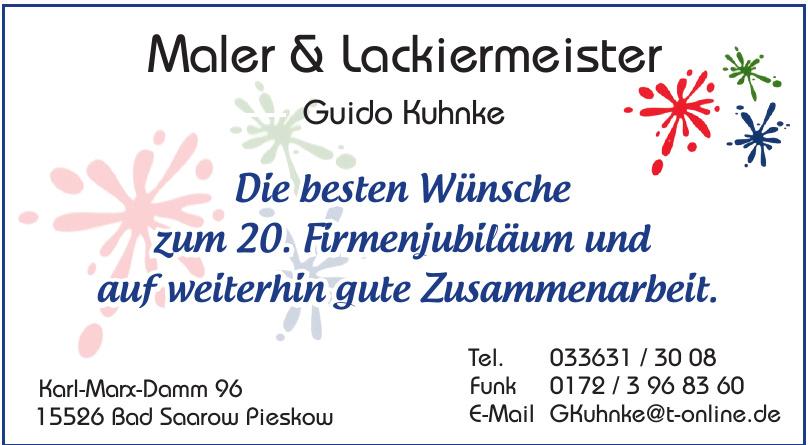 Maler & Lackiermeister Guido Kuhnke