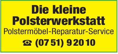 Polstermöbel-Reparatur-Service