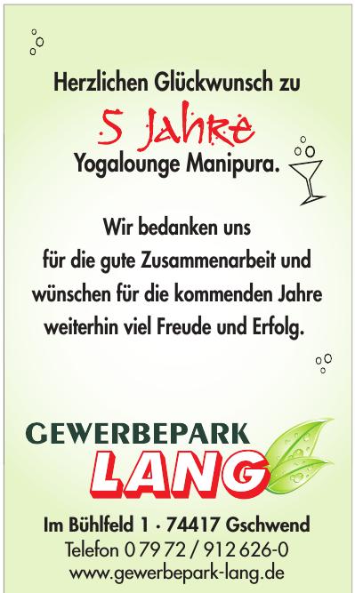 Gewerbepark Lang