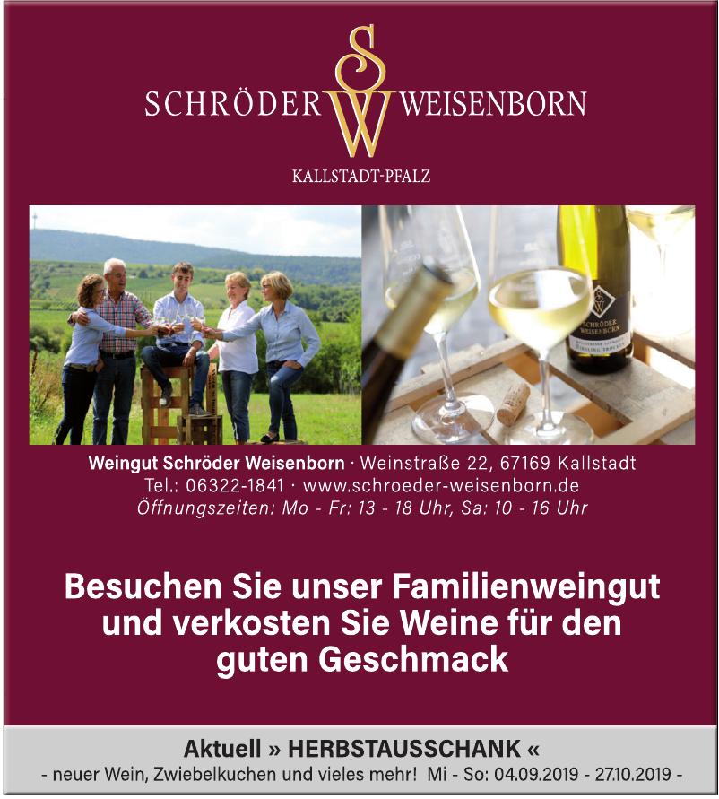 Weingut Schröder Weisenborn