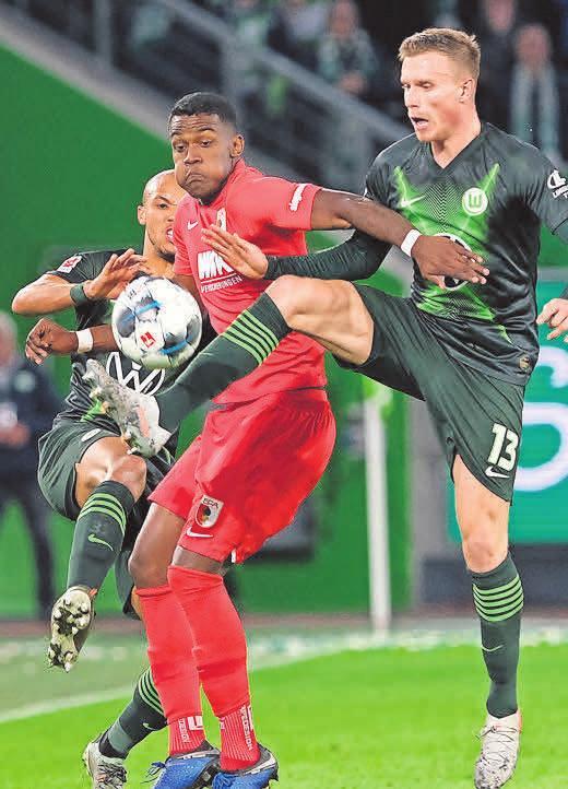 280:336 Torschüsse: Augsburg und der VfL.