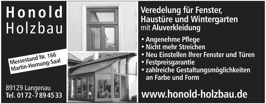 Honold Holzbau