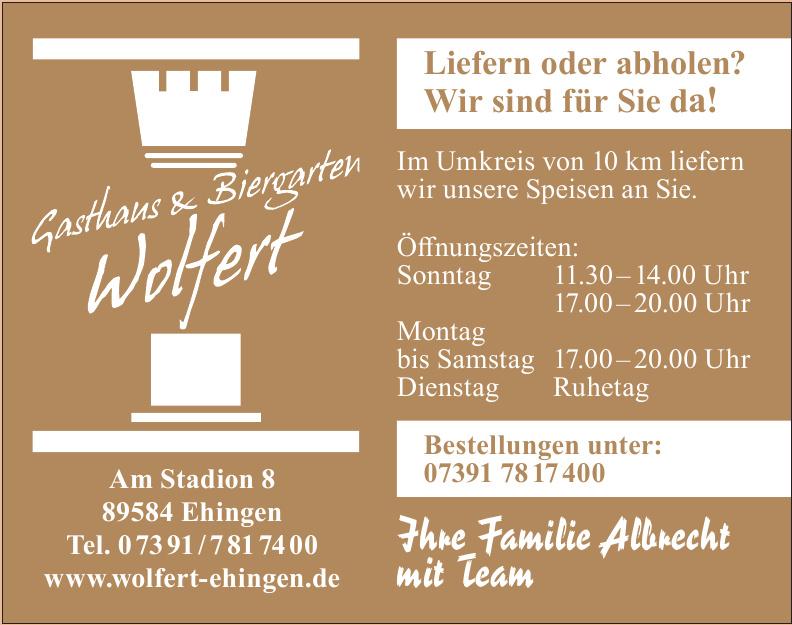 Gasthaus & Biergarten Wolfert