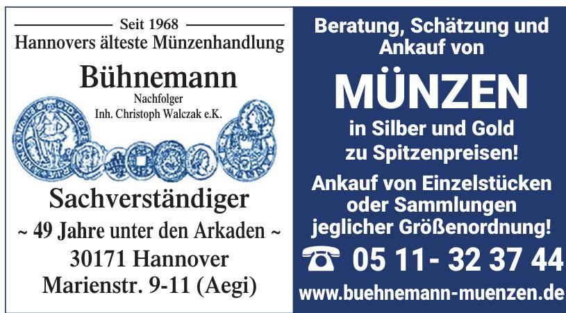 Bühnemann Münzen