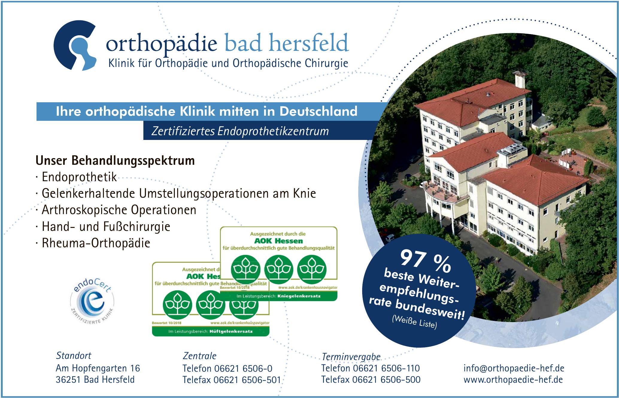 Orthopaedie Bad Hersfeld