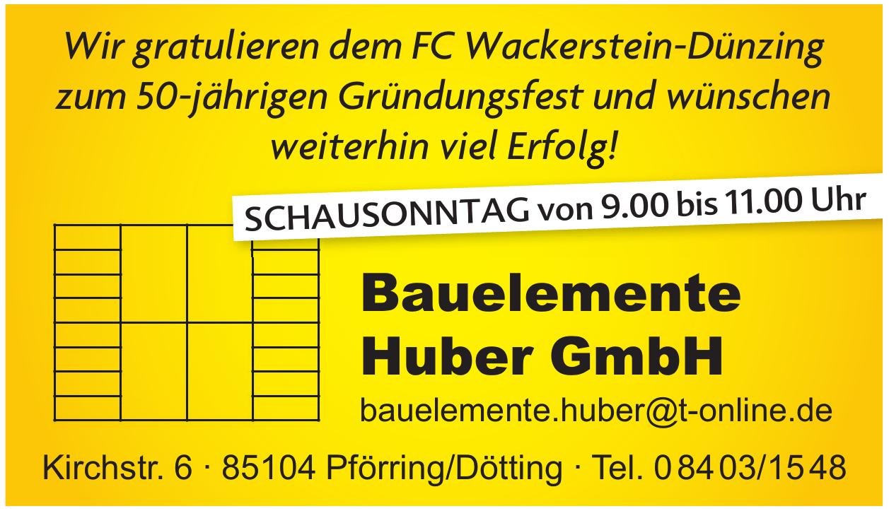 Bauelemente Huber GmbH