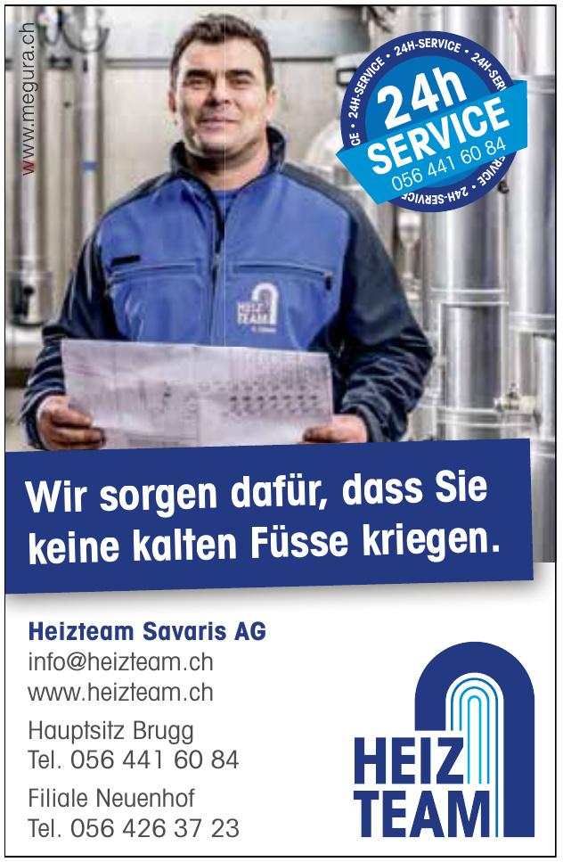 Heizteam Savaris AG