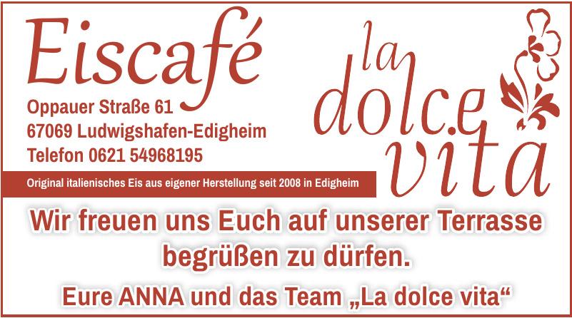 """Eiscafé """"La dolce vita"""""""