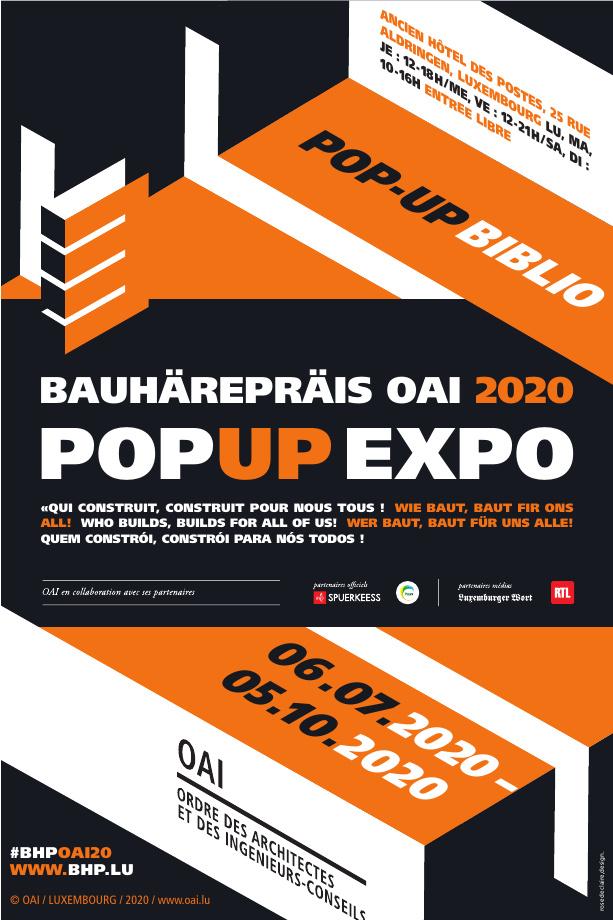 Bauhärepräis OAI 2020 - POPUP Expo