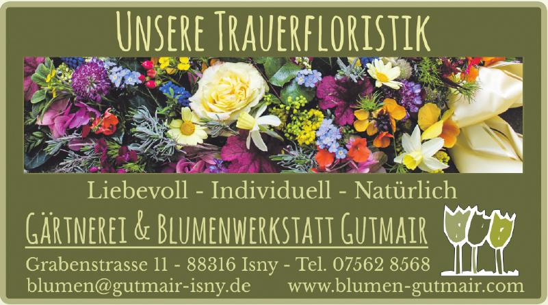 Gärtnerei & Blumenwerkstatt Gutmair