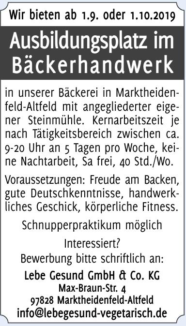 Lebe Gesund GmbH & Co. KG