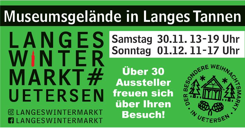 Langes Winter Markt
