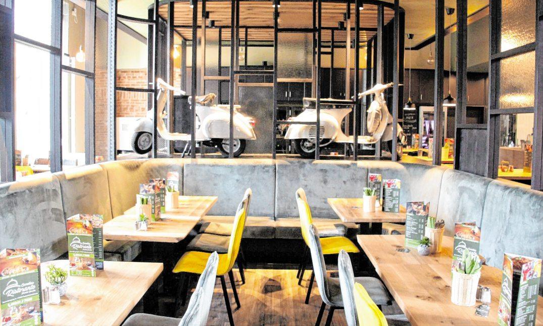 Das neue Restaurant erstrahlt in italienischem Flair. BILDER: PETER D. WAGNER