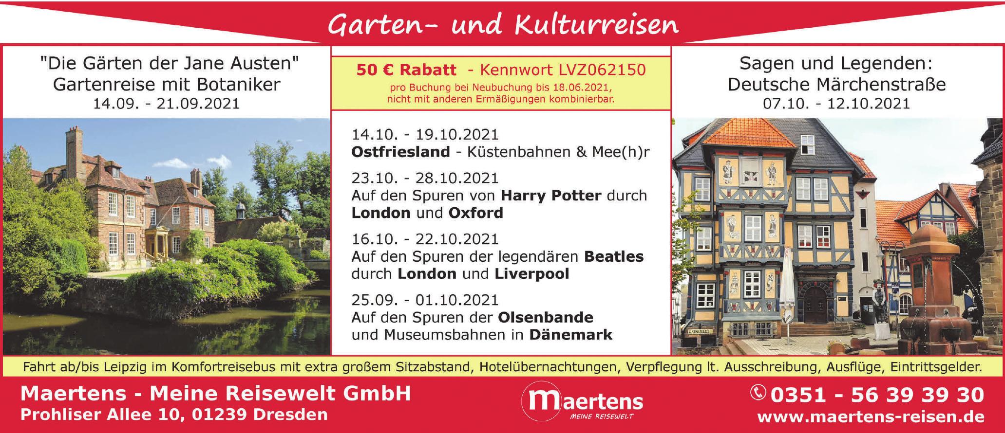 Maertens - Meine Reisewelt GmbH