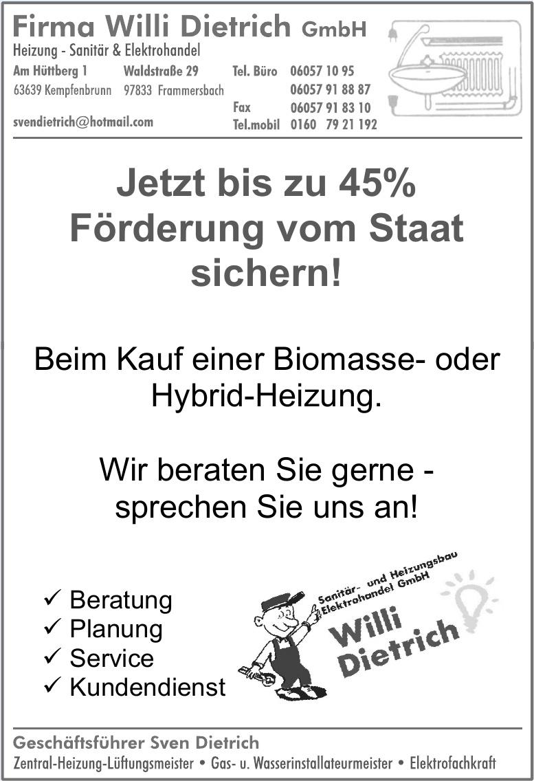 Firma Willi Dietrich GmbH