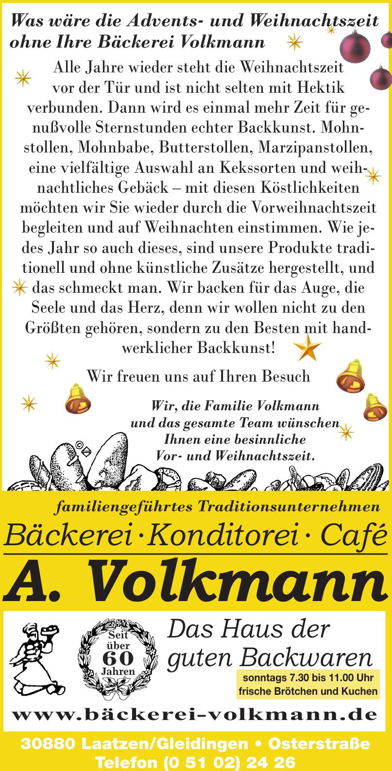 Bäckerei Volkmann