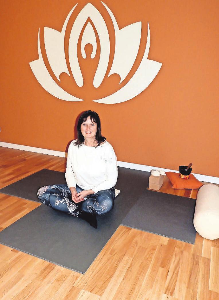 Bettina Wietgrefe lädt am Sonnabend, 2. Februar, ab 11 Uhr zum Tag der offenen Tür im neuen Yogastudio ein.