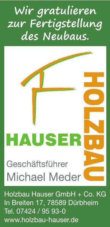 Holzbau Hauser GmbH + Co. KG