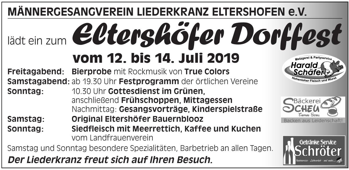 Elterschöfer Dorffest