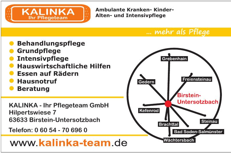 KALINKA - Ihr Pflegeteam GmbH