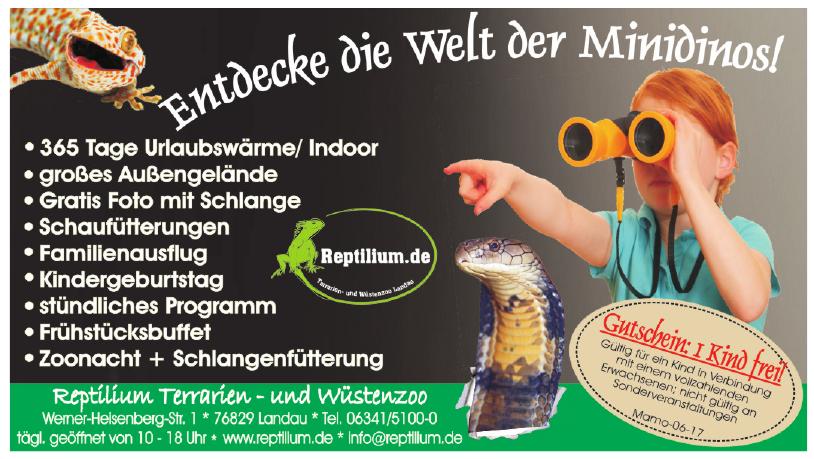 Reptilium Terrarien- und Wüstenzoo GmbH