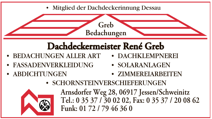 Dachdeckermeister René Greb