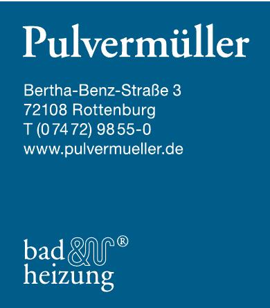 Pulvermüller Bad & Heizung
