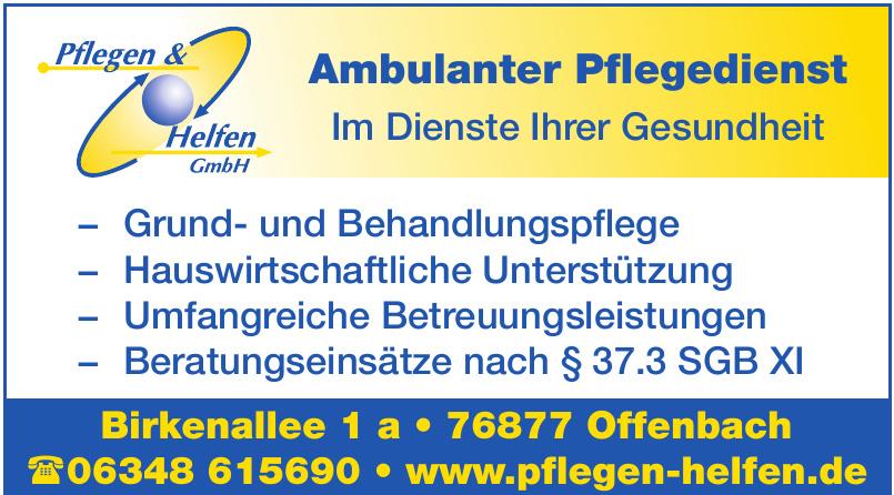 Pflegedienst & Helfen GmbH