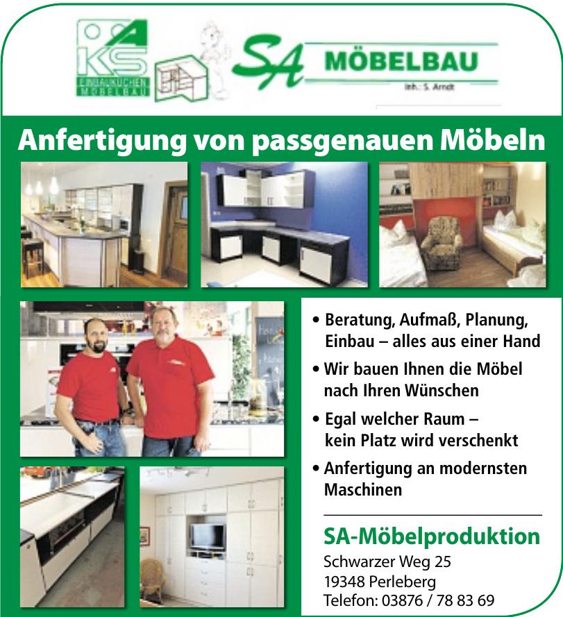 SA-Möbelproduktion