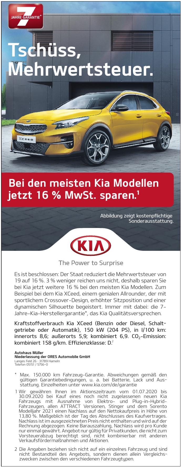Autohaus Müller Niederlassung der ORES Automobile GmbH