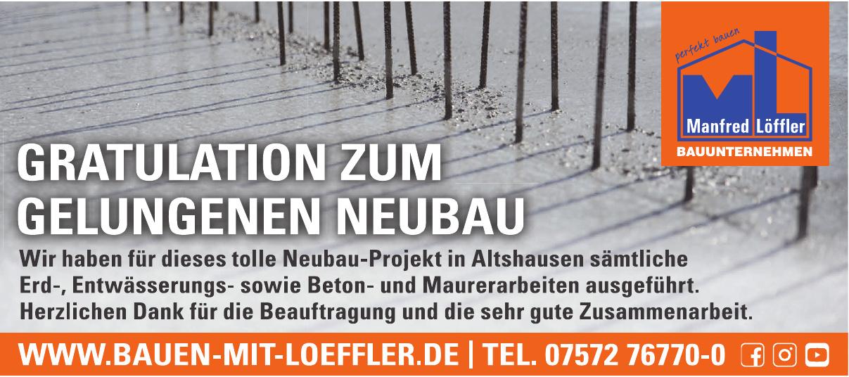Manfred Löffler Bauunternehmen