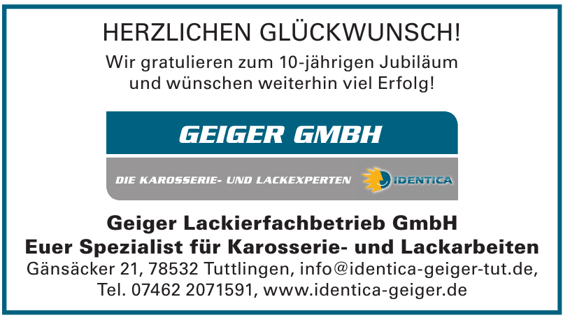 Geiger Lackierfachbetrieb GmbH