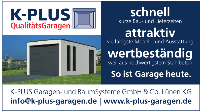 K-PLUS Garagen- und RaumSysteme GmbH & Co. Lünen KG